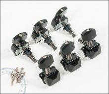 Механика колковая Solo с крышками, черная
