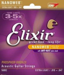 Струны Elixir Nanoweb 16002
