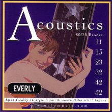 Струны Everly Acoustic 7011