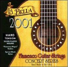 Струны LaBella 2001 Flamenco Hard