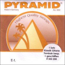 Струны Pyramid Klassik Gitarre Tambak Polished 353200