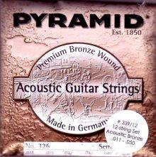 Струны Pyramid Acoustic Guitar Bronze 12-str. 339/12