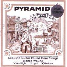 Струны Pyramid Western Folk Polished PR328 100