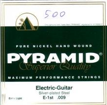 Струны Pyramid El-guitar Pure Nickel    D500