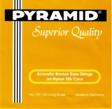 Струны Pyramid Bass Acoustic Bronze Nylon 781 100