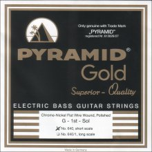 Струны Pyramid Bass Chrome-Nickel FLATWOUND Short 640