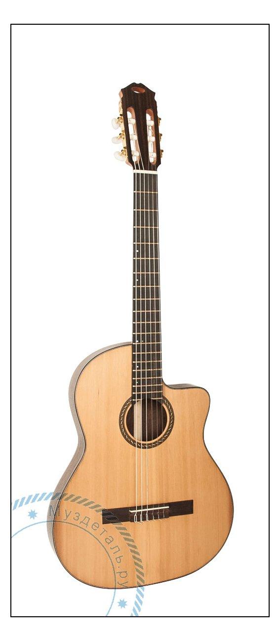 Гитара классическая AMK Rosewood Slim EQ