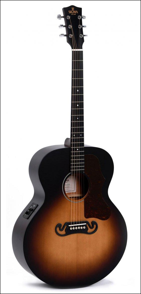 Гитара акустическая Sigma GJM-SGE