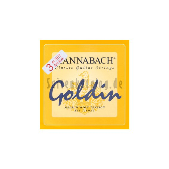 Струны Hannabach 7258 Goldin Carbon (3str.)
