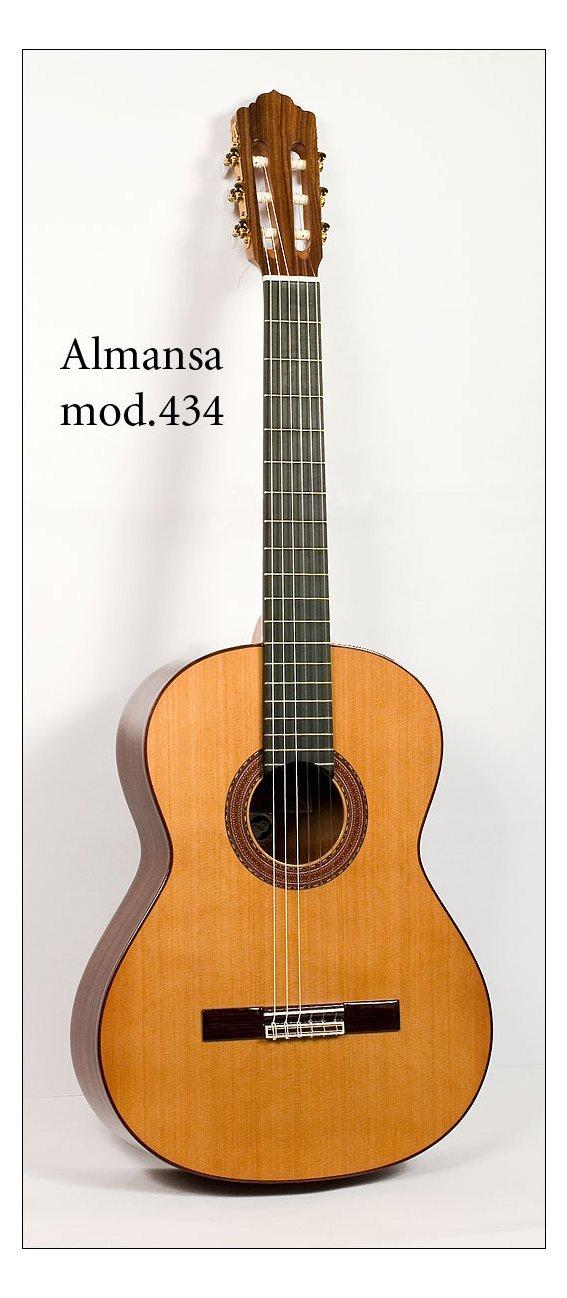 Гитара классическая Almansa 434