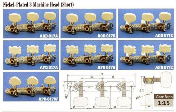 Механика колковая Alice  AOD-017