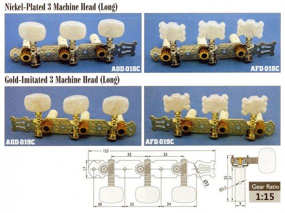 Механика колковая Alice  AOD-018C