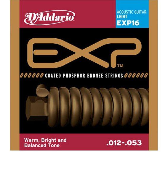Струны D'Addario EXP16 Phosphor Bronze