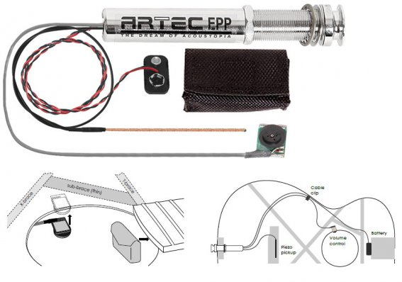 Темброблок Artec EPP+A