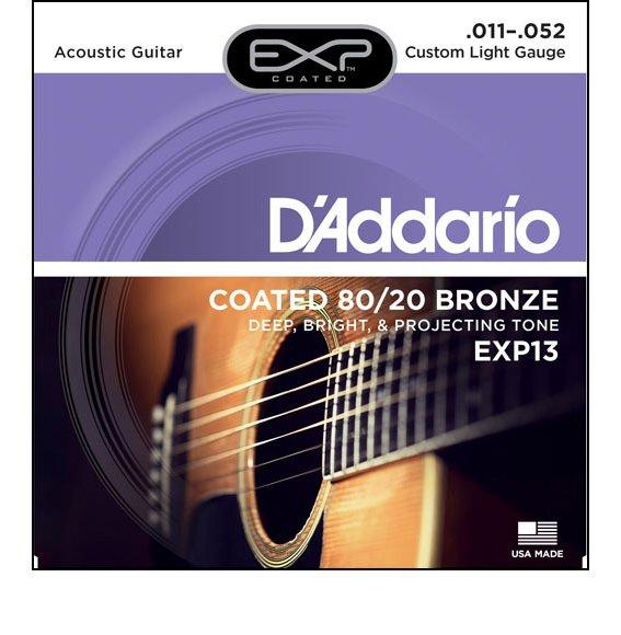 Струны D'Addario EXP13 80/20 Bronze