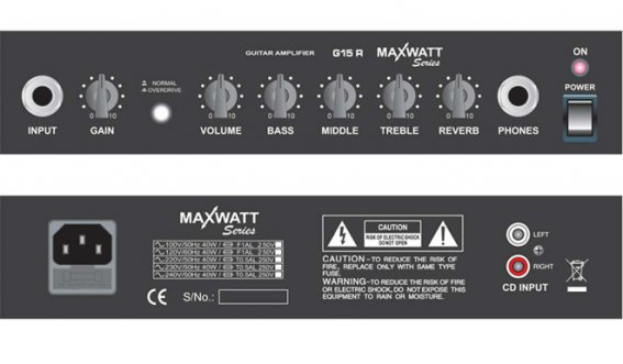 Комбик HIWATT MAXWATT G15R