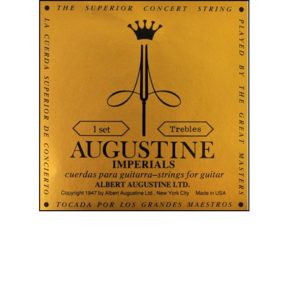 Струны Augustine Imperials Treble Set