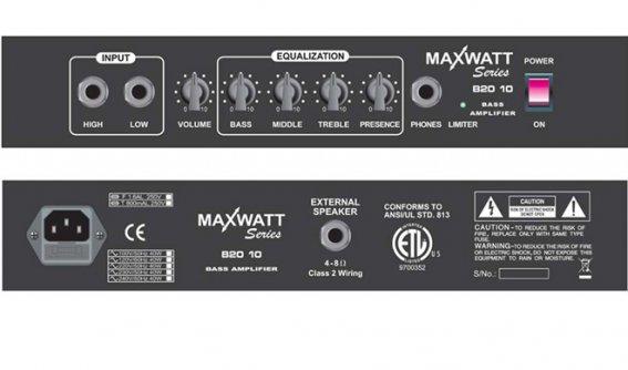 Комбик HIWATT MAXWATT B20/10