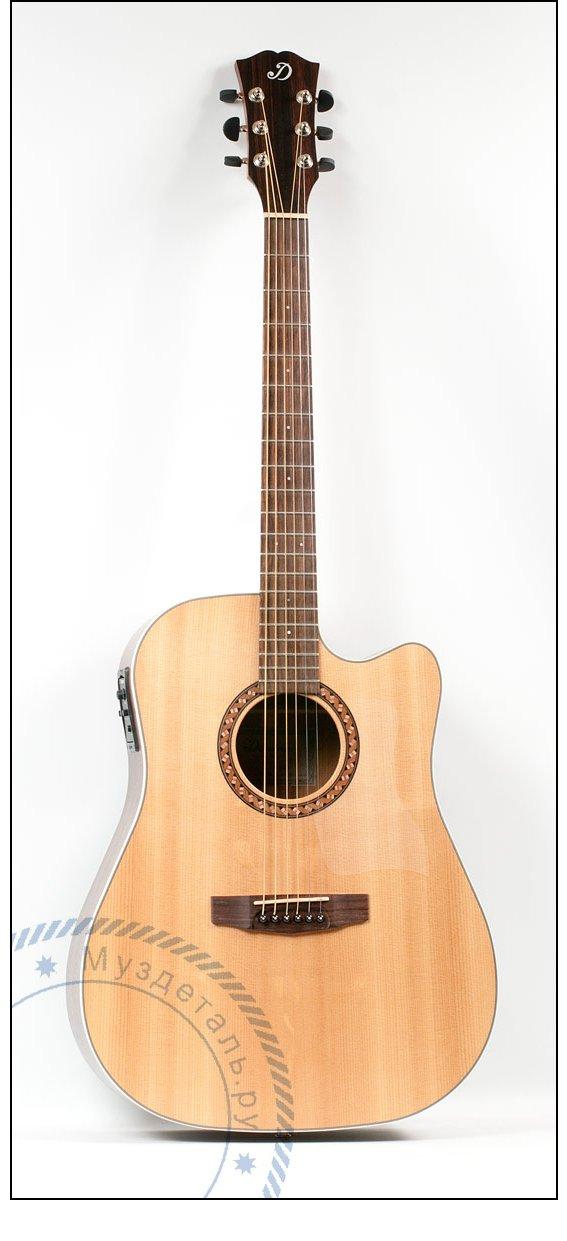 Гитара акустическая Dowina DCE-333S