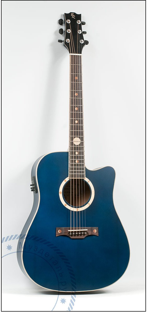 Гитара акустическая Baton Rouge Blue Moon ACE