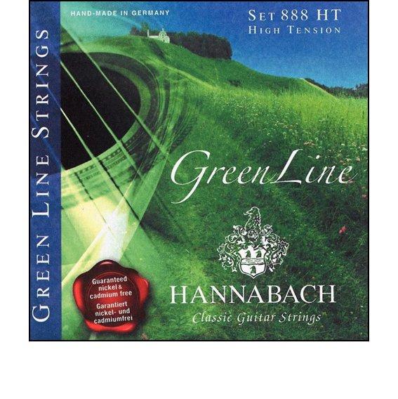 Струны Hannabach GREEN LINE 888 HT