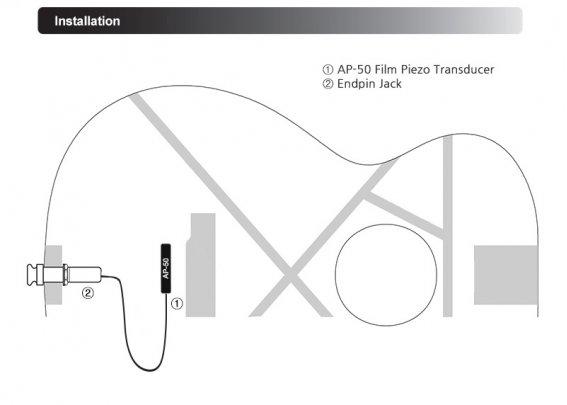 Звукосниматель Artec ENN-AP50S