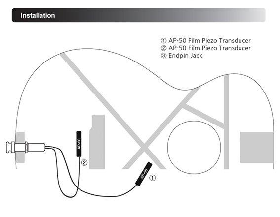 Звукосниматель Artec ENN-AP50D