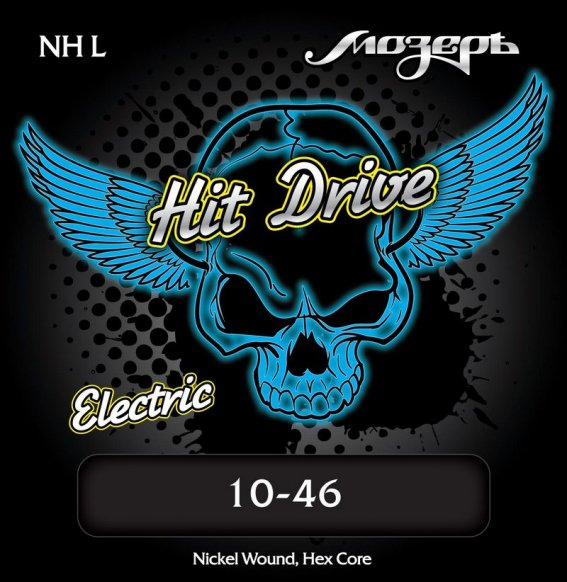Струны Mozer HIT DRIVE NH L