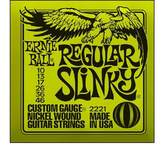 Струны Ernie Ball SLINKY NICKEL WOUND 2221