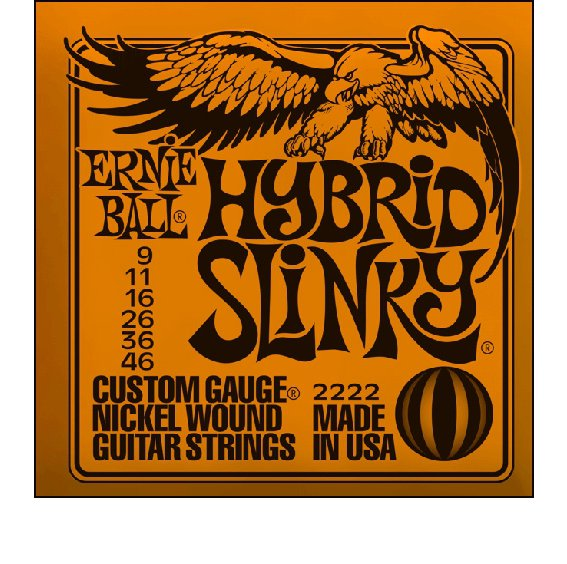 Струны Ernie Ball SLINKY NICKEL WOUND 2222