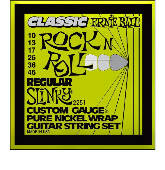 Струны Ernie Ball PURE NICKEL 2251