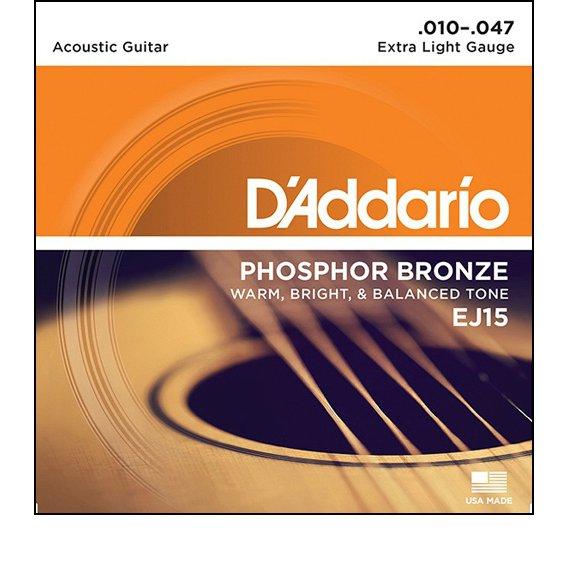 Струны D'Addario EJ15 PHOSPHOR BRONZE