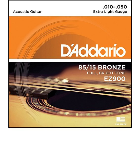 Струны D'Addario EZ900 AMERICAN BRONZE