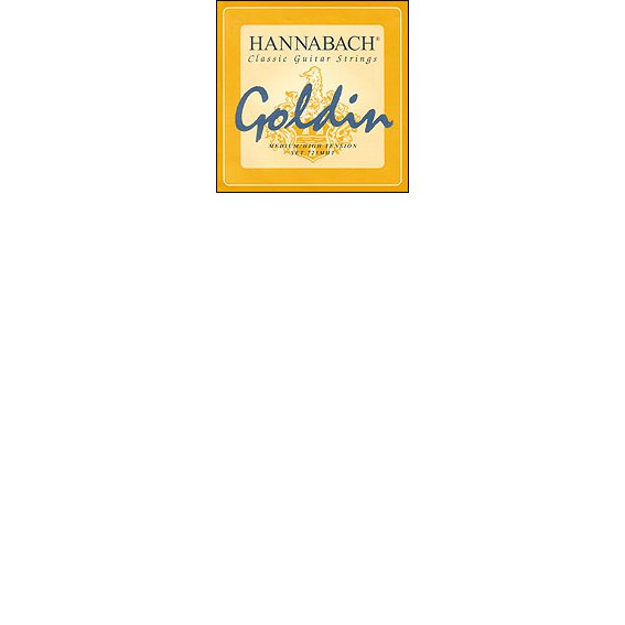 Струны Hannabach Golden 725 MHT