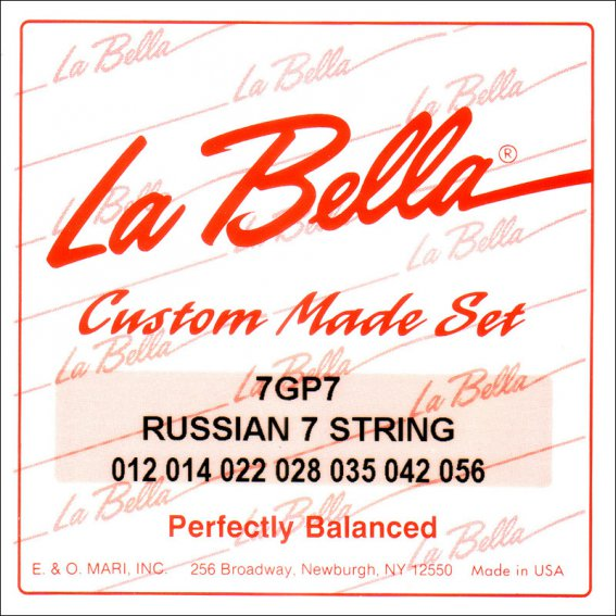 Струны LaBella 7GP7 для русской 7-струнки