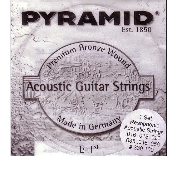 Струны Pyramid Resophonic Acoustic 330 100