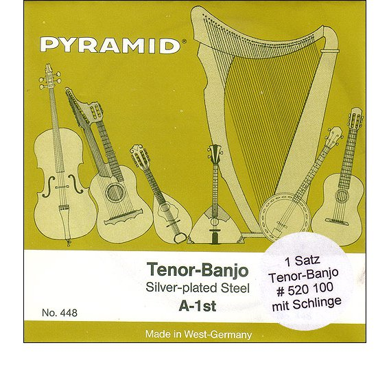 Струны Pyramid Tenor Bandjo 520100
