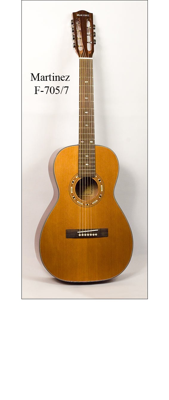 Гитара семиструнная Martinez F-705/7