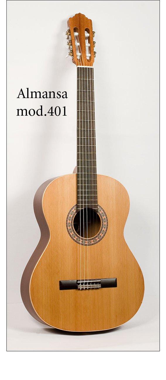 Гитара классическая Almansa 401