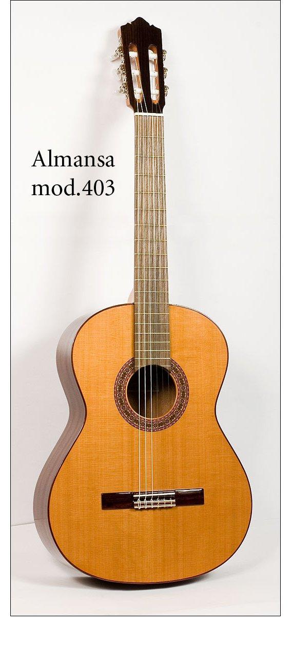 Гитара классическая Almansa 403