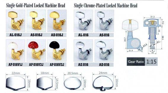 Механика колковая Alice AP-016V2JP