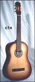 Кунгурская гитара с1н
