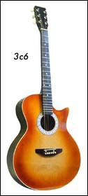 Гитара МУЗА 3с6
