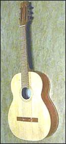 Гитара Екатеринбургской фабрики